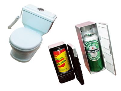 T小編挖寶:隨身碟好便宜、迷你小冰箱、馬桶變電話