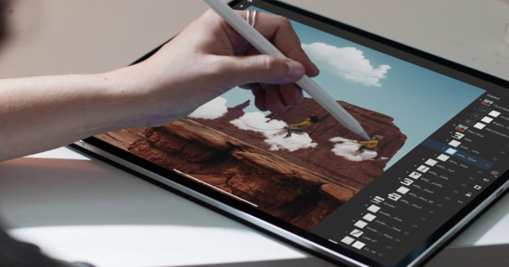 Adobe為Photoshop on iPad添加調整邊緣筆刷工具及旋轉畫布功能