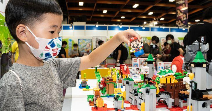 樂高《超級瑪利歐》系列 8 月台灣開賣,台北國際 ACG 博覽會搶先體驗