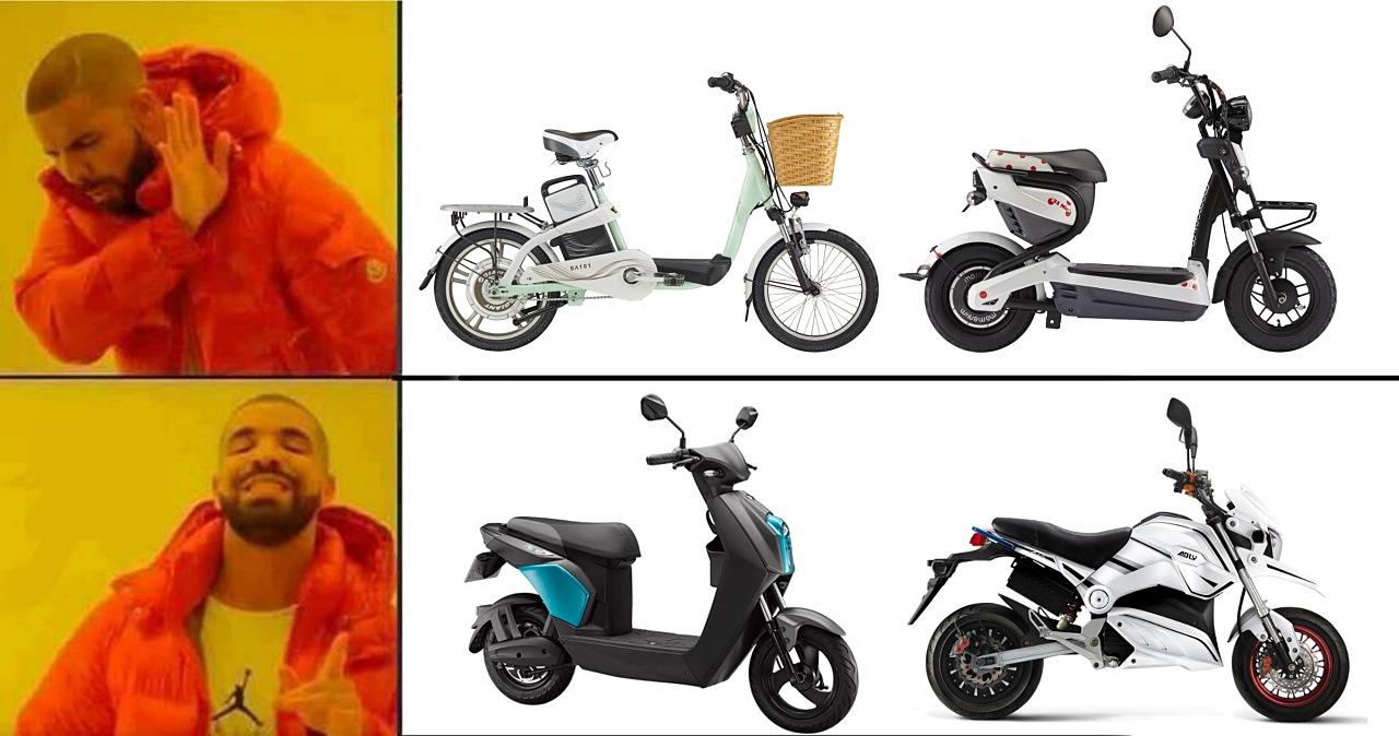市售「電動自行車」五款最高時速超過法定60公里已違法,電動自行車、機車一般人多半分不出差異