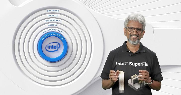 這次牙膏擠很多!Intel 公開 10 奈米 SuperFin 技術,九月 Tiger Lake 處理器首先應用