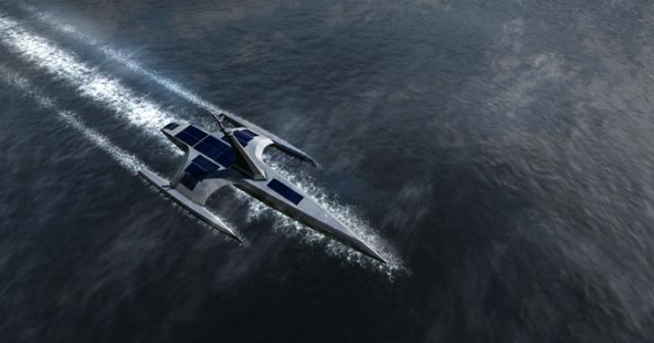 無人駕駛船「五月花號」將在明年年初挑戰橫跨大西洋,重現400年前五月花號歷史性旅程
