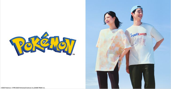 GU《Pokémon》聯名系列第二彈全新登場!9月7日網路商店搶先販售