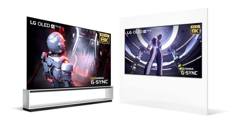 支援 NVIDIA GeForce RTX 30 系列的 8K 電視來了,LG 推出多款頂級遊戲用電視