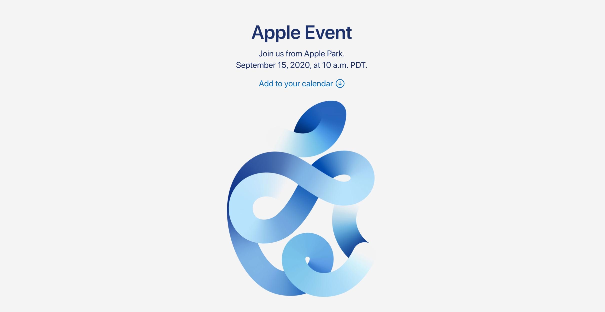 蘋果新品發表會來了!iPhone 12 台灣時間 9/16 凌晨一點線上見