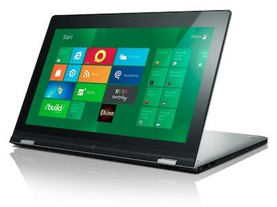Lenovo IdeaPad Yoga:超軟Q Windows 8 筆電+平板