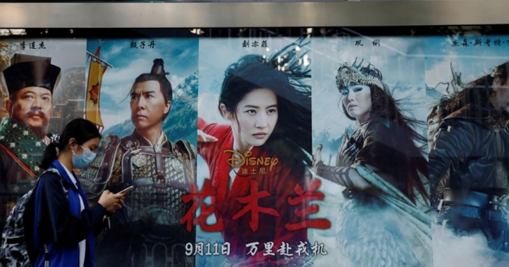 迪士尼承認《花木蘭》引爭議,美議員痛批電影配合中國自我審查
