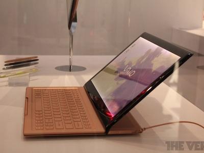 Sony VAIO 結合 Windows 8,滑蓋平板筆電亮相