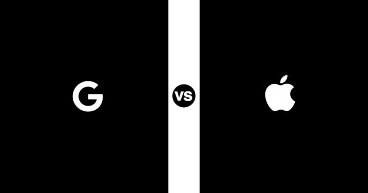 10張簡單圖表對比,理解Apple與Google設計理念的差異