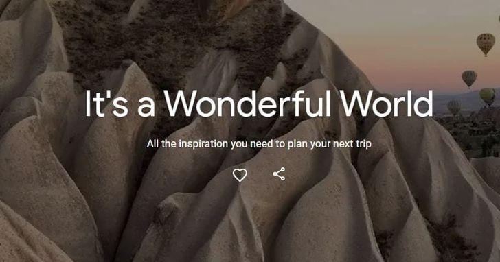 Google慶祝世界旅遊日,新增專頁利用(AR讓你在博物館與文化景點中虛擬旅程