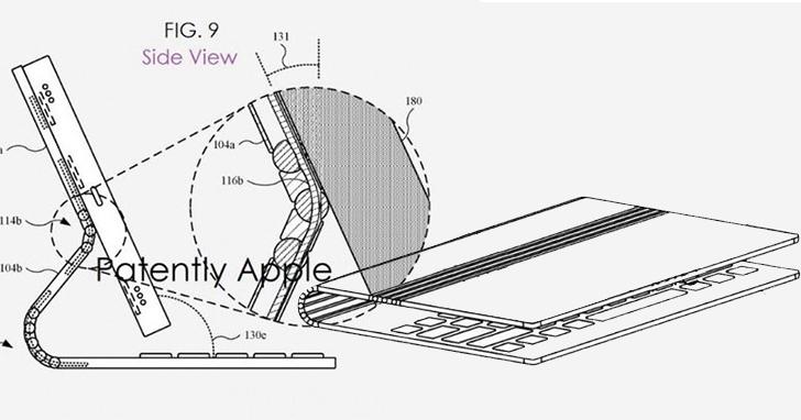 新專利顯示蘋果正研發類似Surface的可拆卸Macbook