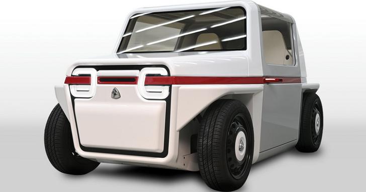 超可愛!AZAPA FDS Concept 是台超小型的燃料電池車