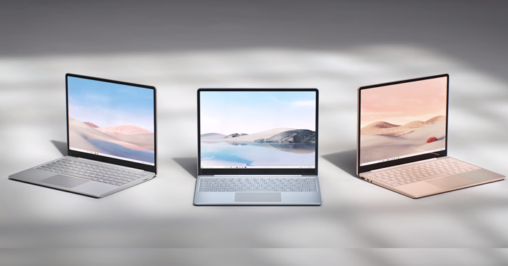微軟 Surface Laptop Go 筆電,12.4 吋入門定位、 售價 549 美元起