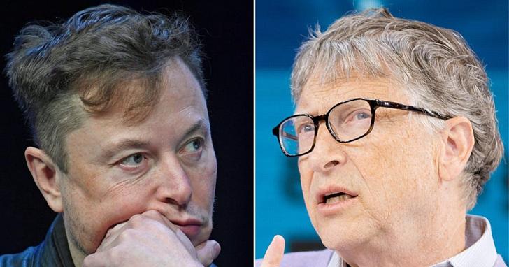 伊隆·馬斯克和比爾·蓋茲,為什麼互相看不順眼?