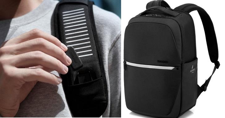 Samsonite 與 Google 合作推出 Konnect-i 智慧背包,觸控背包就能操作手機