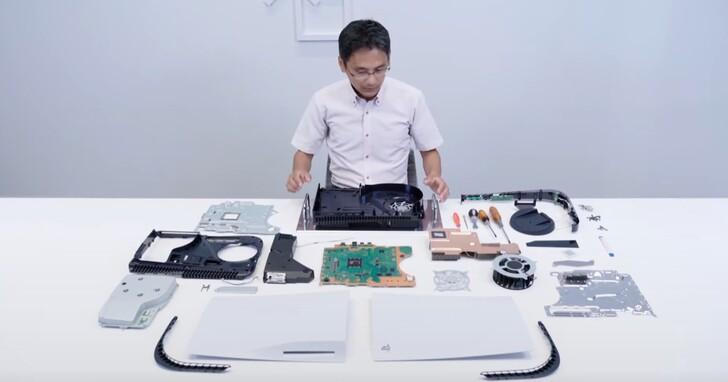 PS5 主機官方親自拆光光!液態金屬加強散熱,M.2 SSD 方便擴充