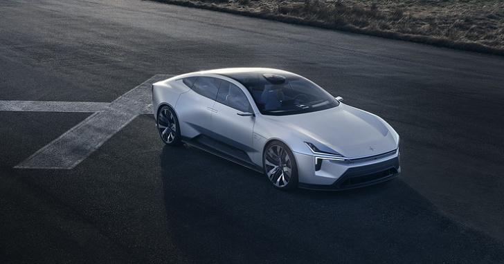 POLESTAR Precept 概念車預計投入量產,全車設計超未來