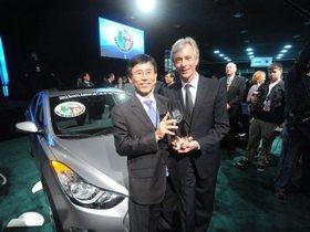 HYUNDAI All New Elantra拿下最榮耀大獎~ 2012北美年度風雲車