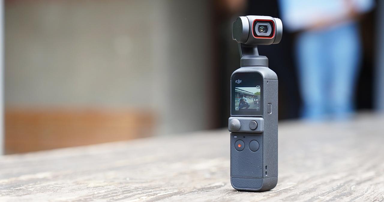 口袋雲台相機 DJI Osmo pocket 2 來了!6400 萬畫素 20mm F1.8 鏡頭全面升級