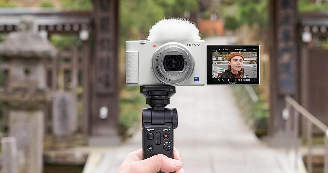 Sony ZV-1 新色款「晨曦白」登場,加碼再送施華洛世奇皮革手腕帶