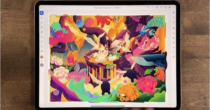 Adobe正式推出Illustrator iPad版,支援超過18,000款字體