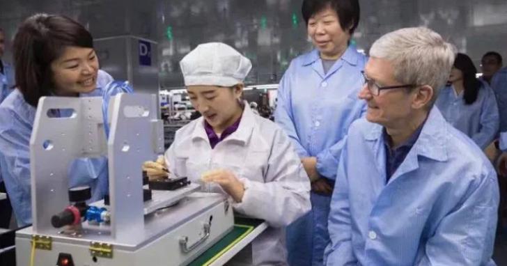 外媒報導因為富士康浮報工人數量導致和蘋果關係生變,鴻海反駁為無稽之談