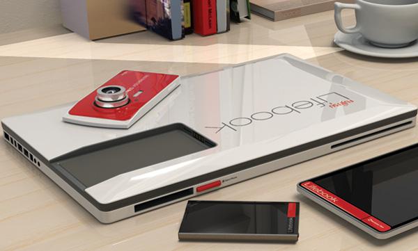 Fujitsu 四合一筆電,整合相機、手機、平板於一身