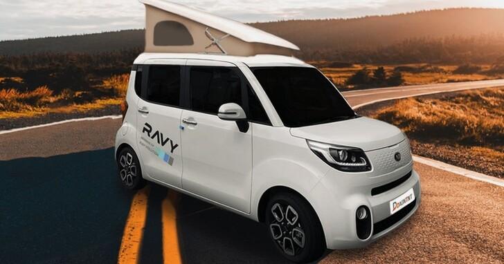 有廚房、有臥室,甚至還有冷暖氣?!Kia 推出微型露營車 Ravy