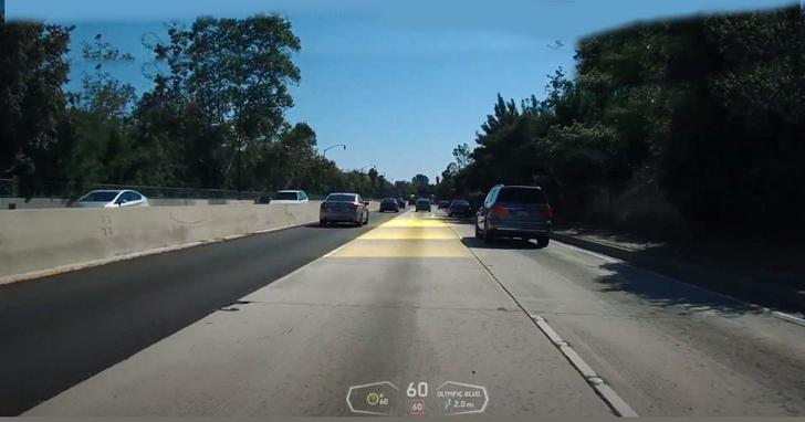 將 AR 技術投入汽車導航,甚至還能避免車禍