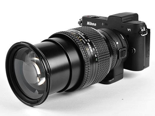 Nikon 1 V1 + FT-1 的飛羽攝影初體驗