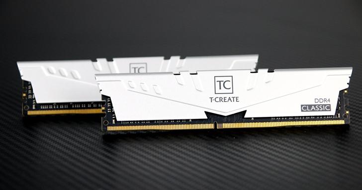 具顏質又可靠的工作伙伴!十銓科技 T-CREATE CLASSIC DESKTOP DDR4 10L 記憶體評測