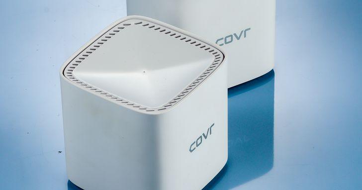 D-Link COVR-1102 開箱評測:支援 EasyMesh 技術的 AC1200 雙頻 Mesh 無線路由器
