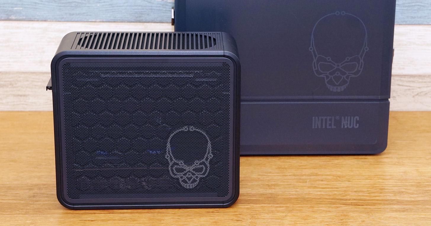 Intel NUC 9 極致套件 Ghost Canyon 開箱:迷你有型,更兼具強勁效能!