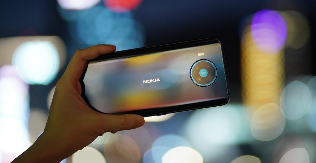 Nokia 8.3 5G 開箱評測,夜拍效果出色的超大螢幕、大電量 5G 手機