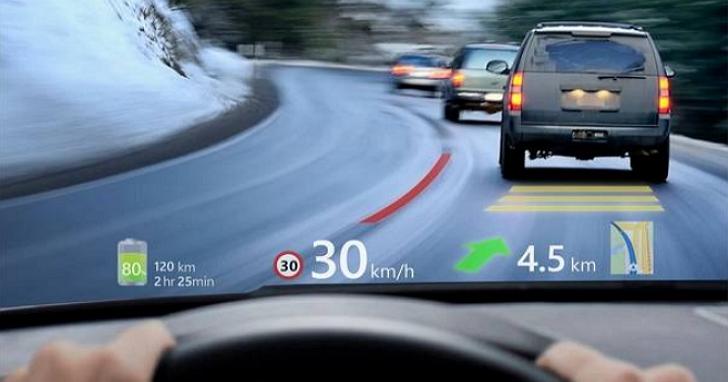 宇碩電子擴增實境抬頭顯示器再進化,AR HUD率先導入最新MAVE光學技術