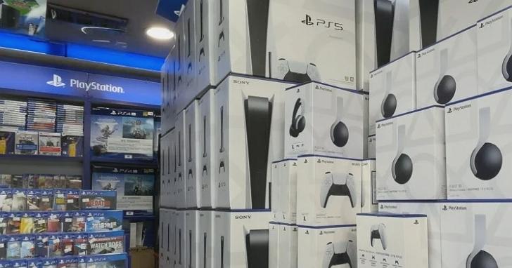 你要的PS5都被他們搶走了,黃牛屯貨3500台PS5、轉手秒賺台幣3800元