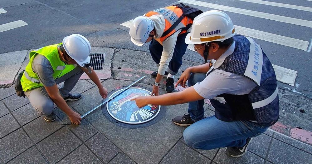 注意你的腳下!台北市即將換上多款彩繪人孔蓋