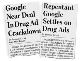 Google 知法犯法,美國政府利用騙子抓到証據,罰5億美元