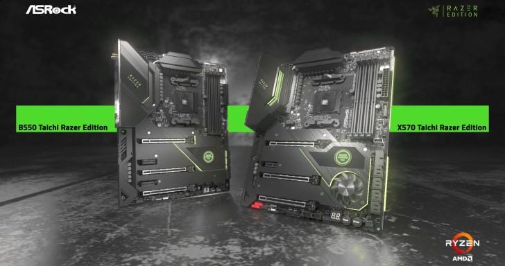 ASRock與Razer Edition攜手推出聯名主機板,原生整合Razer Chroma RGB燈效