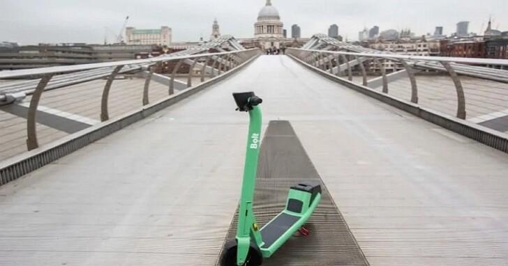 Bolt推出第四代電動踏板車:完整充電可續航40公里