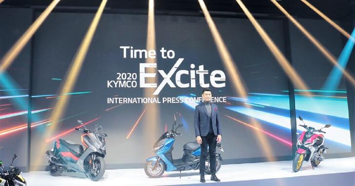 KYMCO 紅黃白牌與電動車款一次到齊,2021 年起相繼問世