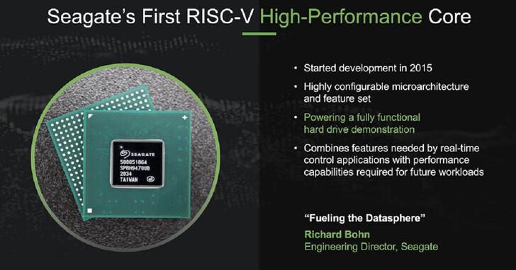 Seagate 為儲存裝置導入 RISC-V 處理器,HDD 效能提高三倍