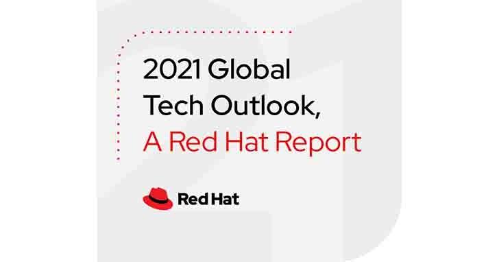 紅帽揭2021全球IT領導者技術目標,數位轉型及資安仍為首要任務