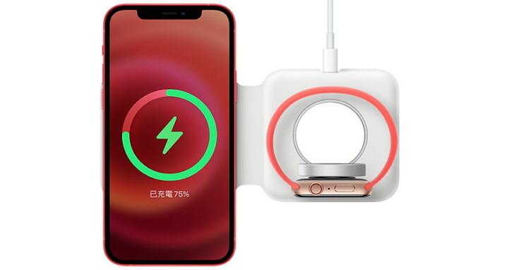 蘋果 MagSafe 雙充電器預購,售價 4,290 元、明年 1 月才到貨