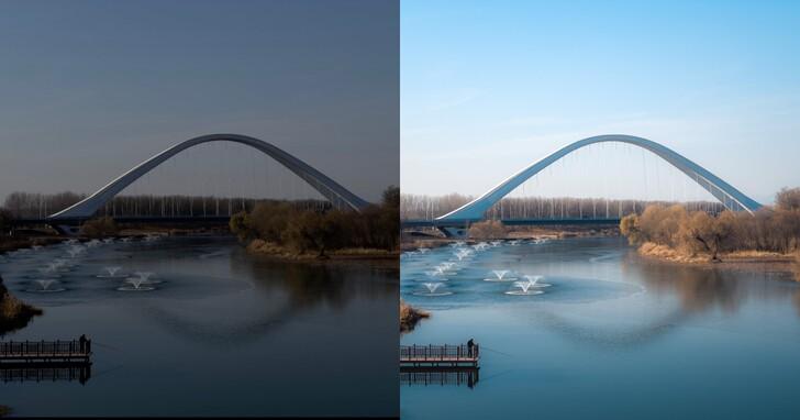 專業攝影師使用 iPhone 12 Pro Max 拍攝的 ProRAW 前後對比照
