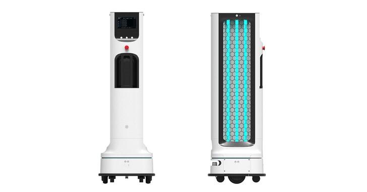 LG 推出自主式移動紫外線消毒機器人,加強人潮密集區消毒效率