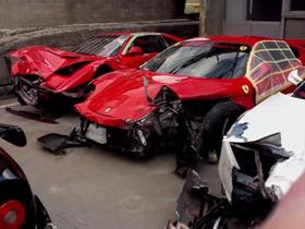 1.2 億天價 Ferrari 車禍,日港台超跑車禍集錦