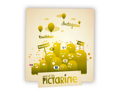 Pictarine:一個網站讓你整合、看遍所有網路相簿!