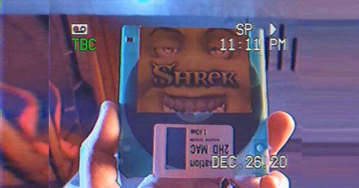 史上最狂「軟碟」影音播放機!將90分鐘完整「史瑞克」電影塞進1.44MB磁碟片內