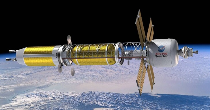 NASA投資太空工程的未來,發展核動力火箭登陸火星